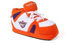 Phoenix Suns Nba Boot Slipper - 1. SM - W T12.5-5, M T12.5-4, Phoenix Suns  http://allstarsportsfan.com/product/phoenix-suns-nba-boot-slipper/?attribute_pa_size=1-sm-w-t12-5-5-m-t12-5-4&attribute_pa_color=phoenix-suns  ROBERT HERJAVEC SHARK TANK PRODUCT! FREE RETURNS & EXCHANGES, CLICK HERE ON MOBILE FOR SIZES AND INFO Indoor Slippers, OFFICIALLY LICENSED
