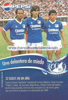 la gambeta, el pajaro y rubencho... Soccer, Football, Baseball Cards, Pictures, World Football, Bogota Colombia, Champs, White People, Photos