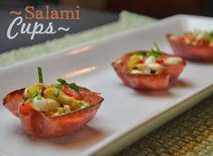 Salami Cups appetizer