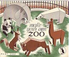 Puffin Picture Books - Make Your Own Zoo (1945)