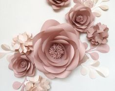 Paper Flower Backdrop Unique Paper Flowers Backdrop by MioGallery                                                                                                                                                                                 More
