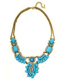 Aqua Boho Necklace