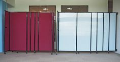 Our most popular sliding room divider, the StraightWall will help divide space efficiently and effectively!