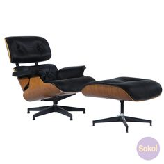 Wanting a lounge or side chair to spice up your home? Take a look at Sokol's classy Replica Eames Lounge & Ottoman - Premium Version.