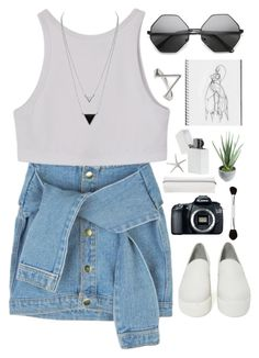 """Untitled #361"" by amy-lopezx ❤ liked on Polyvore featuring Shellys, Eos, House of Harlow 1960, Alöe, Sonia Kashuk and Swell"
