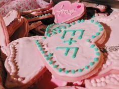 Cookies de azúcar en la vintage table de Süss pastelería