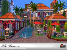 The Barocca Found in TSR Category 'Sims 4 Community Lots'