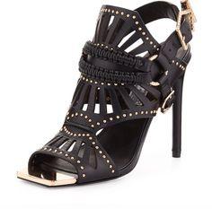 Ivy Kirzhner Valentin Golden Studded Sandals!!!❤️❤️❤️
