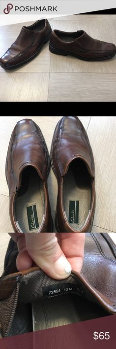 Clark's Leather Loafers Worn once and didn't fit Clarks Shoes Loafers & Slip-Ons