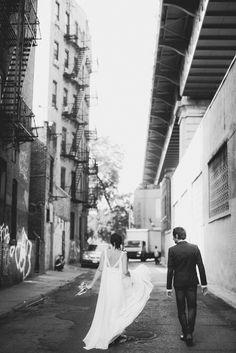 New York Elopement  Photo by Samm Blake