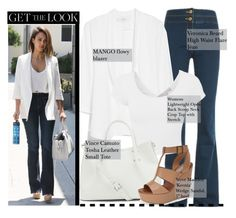 """Jessica Alba-Get the Look"" by alexanderbrooks ❤ liked on Polyvore"