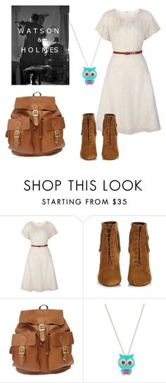 """""""My Watson is coming to town!!"""" by raspberry-stegosaurus ❤ liked on Polyvore featuring Miss Me, Uttam Boutique, Yves Saint Laurent and claire's"""