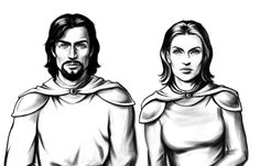 The Ultima Return site has been updated, and a few more character portraits have been posted.    http://ultimacodex.com/2012/08/ultima-return-more-portraits/