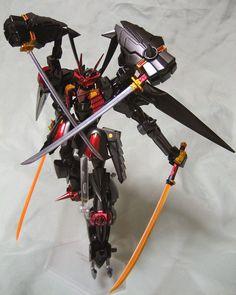 "Custom Build: 1/144 Masurao Custom ""Futsunushi"" - Gundam Kits Collection News and Reviews"