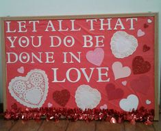 day decorations for office bulletin boards Catholic Bulletin Boards, February Bulletin Boards, Office Bulletin Boards, Valentines Day Bulletin Board, Christian Bulletin Boards, Interactive Bulletin Boards, Spring Bulletin Boards, Bulletin Board Display, Valentine Crafts For Kids