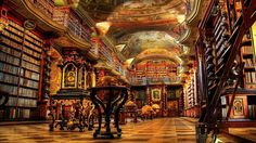 25 OF THE MOST MAGNIFICENT LIBRARIES AROUND THE WORLD - RIGHT FROM THE PAGES OF A FAIRYTALE  (Want to visit. Click through)