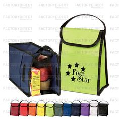 Custom #EcoFriendly Promotional Cooler Bags As Low As $0.59!