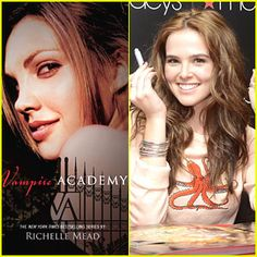 Its only been a few months since Zoey Deutch was cast as Rose Hathaway in the upcoming The Vampire Academy ...