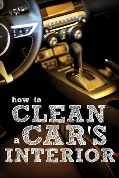 We spend a lot of time in our cars, and we pay a lot for them. So why put up with a dirty car that smells bad? Follow these 10 steps to clean your car's interior and your ride will feel practically new again.