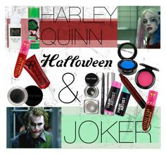 """HARLEY QUINN & JOKER: HALLOWEEN MAKEUP IDEAS"" by cihara ❤ liked on Polyvore featuring Jeffree Star, Manic Panic, Mary Kay, Bobbi Brown Cosmetics, MAC Cosmetics, ASOS and NYX"