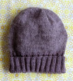 Simple Hat at Purl Bee