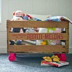 Espacios de guardado originales para los juguetes! - Papis de Bahia