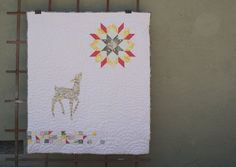 fawn 4 by the quilted fox