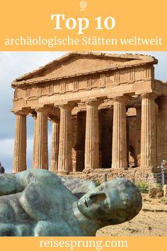 Hier findest du eine Auswahl der spektakulärsten Ruinen auf der ganzen Welt. Diese 10 faszinierenden archäologischen Stätten sind meine Highlights weltweit. #archäologischeStätten #ReiseblogRuinen #IndividualreiseArchäologie #RuinenTop10 #Urlaubweltweit