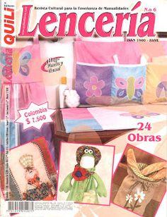 Revistas de Manualidades Para Descargar: Quili Lenceria Nº 6
