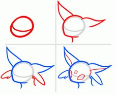 How To Draw Eeveelutions Step By Pokemon Characters Anime Japanese