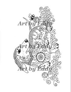 1000 Images About Dachshund Coloring Book