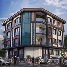 İstanbul Dış Cephe Giydirme – ORDOPA Building Elevation, Building Facade, Building Design, Architecture Résidentielle, Neoclassical Architecture, Facade Design, Exterior Design, House Design, Bungalow