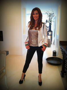 Top   Relish Jasje   Glamorous Broek   Elisabetta Franchi Schoenen   Steve Madden
