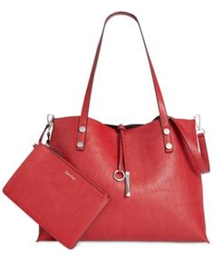 f4d726d66e Calvin Klein Extra Large Reversible Tote with Pouch | macys.com Calvin  Klein Tote Bag