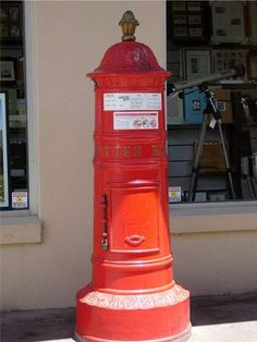 Mailbox -- Australian Post Box from the Victorian era