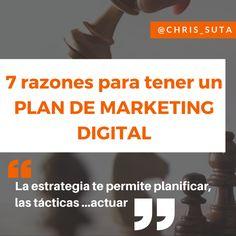 7 razones que justifican tener un plan de marketing digital