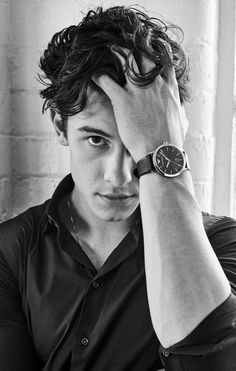 shawn mendes for an ad for armani watches Shawn Mendes Memes, Shawn Mendes Lindo, Shawn Mendes Cute, Shawn Mendes Imagines, Shawn And Camila, Singer Songwriter, Foto Gif, Fangirl, Shawn Mendes Wallpaper