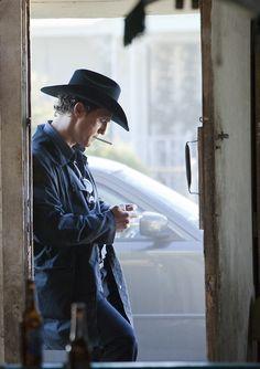 "Matthew McConaughey as ""Killer Joe"" Cooper in William Friedkin's 2011 film, Killer Joe."