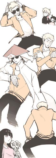 Im with Boruto on this..., Boruto, Himawari, Naruto, Hinata