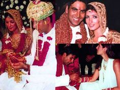 Akshay Kumar and Twinkle Khanna acted in films together before they got married in 2001. Before meeting Twinkle, he dated so many actresses like Shilpa Shetty and Raveena Tandon. | www.indipin.com #Indipin