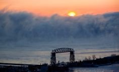 images of duluth, mn in winter | Sea Smoke :: Duluth, MN | Derek Montgomery Photography