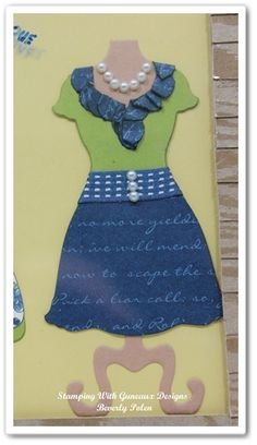 Stampin Up All Dressed Up
