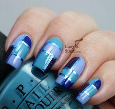 Lucys Stash - Elegant Squares manicure