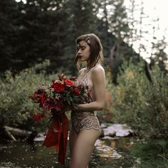 We're loving this hauntingly beautiful boudoir shoot from Haley Nord Photography. Ethereal Photography, Bridal Boudoir Photography, Wedding Boudoir, Couple Photography Poses, Boudoir Photos, Outdoor Photography, Friend Photography, Maternity Photography, Family Photography