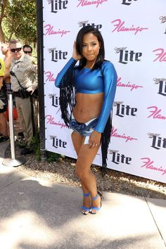 Christina Milian – at the Go Pool At Flamingo Las Vegas, August 2015