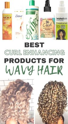The 10 Best Curl Enhancing Products For Wavy Hair Hair Products natural curly hair products Curly Hair Tips, Curly Hair Care, Natural Hair Care, Curly Hair Styles, Natural Hair Styles, Products For Curly Hair, Natural Beauty, Style Curly Hair, Caring For Curly Hair