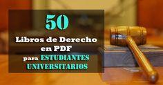 50 libros de Derecho en pdf para estudiantes universitarios