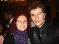 Com Daniel de Oliveira no lançamento do filme 400 Contra 1