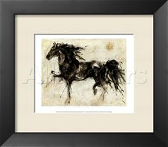 Amanti Art Lepa Zena By Marta Gottfried: X 34 Print Reproduction Wall Prints, Framed Art Prints, Fine Art Prints, Painting Frames, Painting Prints, Artwork Paintings, Canvas Frame, Canvas Art, Watercolor Horse