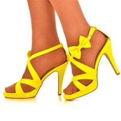 Yellow Heels Uk | Tsaa Heel
